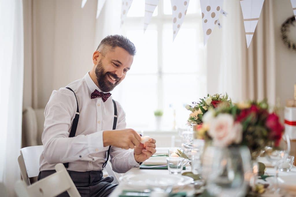 Tischdeko als Geschenk