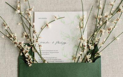 Wertvolle & nachhaltige Hochzeitspapeterie – der Beginn einer nachhaltigen Hochzeit