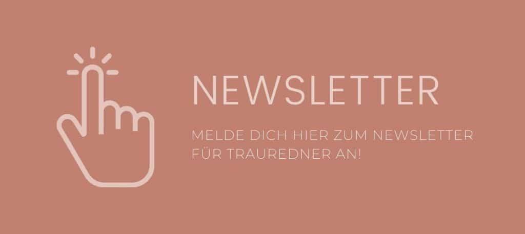 Newsletter für Trauredner